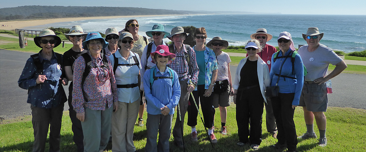 Away trip to Narooma, April 2018 Group 2