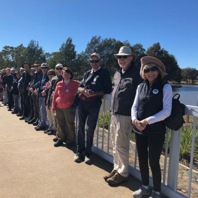 George Baxter Memorial Walk Lake Tuggeranong 31 March 2019 Singleton IMG 3385