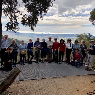 Gibraltar Peak Lookout at Tidbinbilla Nature Reserve 12 June 2019 Singleton IMG 4150